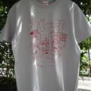 CD屋Tシャツ 『リバー部(シルバーxレッド)』