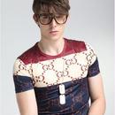 男女Tシャツ 人気美品 グッチTシャツ 1色 メンズ レディース GUCCI