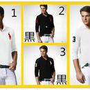 新入荷 POLO RALPH LAUREN ポロシャツ 長袖 ポロ・ラルフローレン メンズファッション 部屋着 白黒選択★