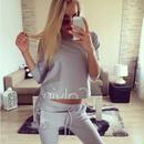 カルバンクラインセットアップ 秋新作 Calvin Klein 上下セット 長袖 レディース 美品 カジュアル ウィメンズファッション