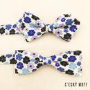flower stone bow tie / CESKY MOFF
