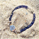 Compass × Iolite - Lucky Charm Bracelet