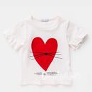 【即納】ハートTシャツ