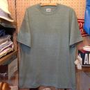 anvil/アンビル 無地Tシャツ made in USA 杢グリーン(melangegreen)  DEADSTOCK