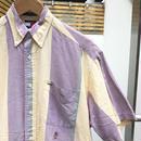 TOMMY HILFIGER/トミーヒルフィガー 半袖ストライプシャツ 90年代 (USED)