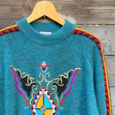 FICCE/フィッチェ ジャガード柄セーター 90年代 (USED)