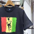 STUSSY/ステューシー ラスタプリントTシャツ 90年代 (USED)