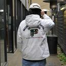 FILA/フィラ ビッグロゴキルトフードジャケット 90年代 (USED)