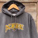 NIKE/ナイキ ロゴ フードスウェット 00年代 (USED)