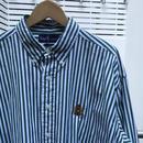 PoloRalphLauren/ポロラルフローレン ボタンダウンストライプシャツ 90年代 (USED)