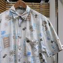 BANANA REPUBLIC/バナナリパブリック トロピカル柄 半袖シャツ 90年代 (USED)