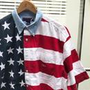 IVY CREW/アイビークルー 星条旗柄半袖シャツ 2000年代 (USED)
