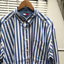 TOMMY HILFIGER/トミーヒルフィガー ボタンダウンストライプシャツ 90年代 (USED)