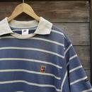 NIKE TENNIS/ナイキ テニス ボーダーポロシャツ 90年代 (USED)