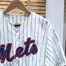 Majestic NY METS/マジェスティック ニューヨークメッツ ベースボールシャツ  (USED)