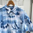NAUTICA/ノーチカ 柄 半袖シャツ 2000年前後 (USED)