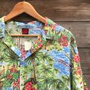 BASE HAWAIIAN SHIRT/ベース ハワイアン アロハシャツ 80年代 (USED)