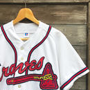 RUSSELL ATHLETIC BRAVES/ラッセル ブレーブス ベースボールシャツ 90年代 Made In USA (USED)