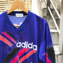 adidas/アディダス 総柄ロングスリーブ Tシャツ 90年代 Made In JAPAN (USED)