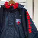 STARTER NBA BULLS/スターター ブルズ 中綿ジャケット フード付き 90年代 (USED難アリ)