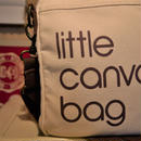 bloomindales/ブルーミングデールズ little canvas bag 2000年代 (USED)