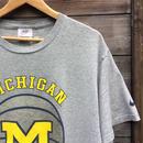 NIKE/ナイキ チームナイキ ミシガン大学 バスケットボール Tシャツ Made In USA (USED)