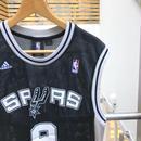 adidas/アディダス NBA バスケットタンクトップ  SPURS 9 PARKAR 2000年代 (USED)