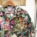 サファリ柄半袖シャツ 2000年前後 (USED)