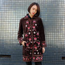 Vintage   Velour Embroidery Coat