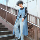 VINTAGE   DENIM  ONE PICE