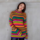 Vintage   Benetton  Border Knit