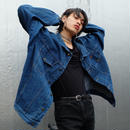 VINTAGE   BIG SIZE DENIM JACKET
