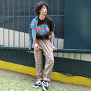 VINTAGE   CHECK SLACKS PANTS
