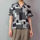 Vintage   Dot Design Shirt