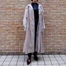 Vintage   Bigsize Shiny Long Coat