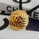 ヴィンテージ CHANEL シャネル ボタン ココマーク 19mm ゴールドボタン ヘアゴムのおまけ付(c-126)