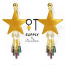 Jewelry kit アクセサリー制作キット/流れ星のキャッチピアス