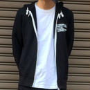 Flight Academy Full Zip Sweat Hoodie・Black   ¥8800(税抜)