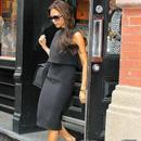 海外インポートセレクトブラックタートールデザインミディー丈ワンピースドレス膝丈海外セレブファッション