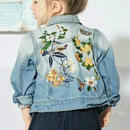 刺繍デニムジャケット