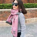 新作 人気 セール シャネル CHANEL マフラー ストール メンズ レディース ユニセックス 男女兼用 4色 CN-WX-02