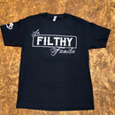 FILTHY HAWAII   familia TSHIRTS ネイビー/ホワイト
