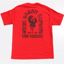 HAVOC HAWAII CLOTHING        DARK PARADICE T-shirts レッド/ブラック