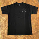 BLACK LABEL  HI    NO MORE PARTIES IN HNL T-shirts ブラック/ホワイト