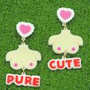 OPPAI piercings/earrings