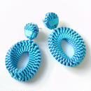 Mobius /  Pierced Earrings    Sky blue イヤリング