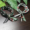 緑バンダナ ネックレス&ブレスレット  2Waytype