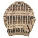 イタリア製 デザイン セーター / 古着 ビンテージ