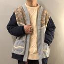 1990's~ USA製 デニム×スウェット 切り替えデザイン ジャケット / 古着 ビンテージ