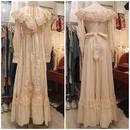 1970s~ vintage gunne sax ブライダル ウェディングドレス/古着 ビンテージ
